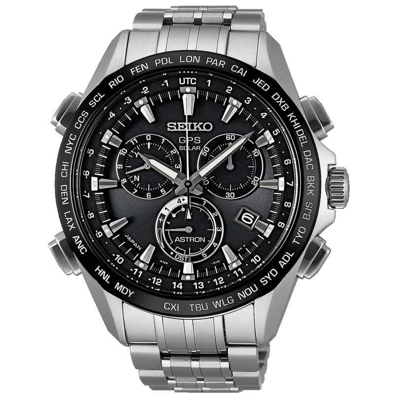 Seiko SSE003J1 Astron GPS Solar Titan Chronograph 4954628181213