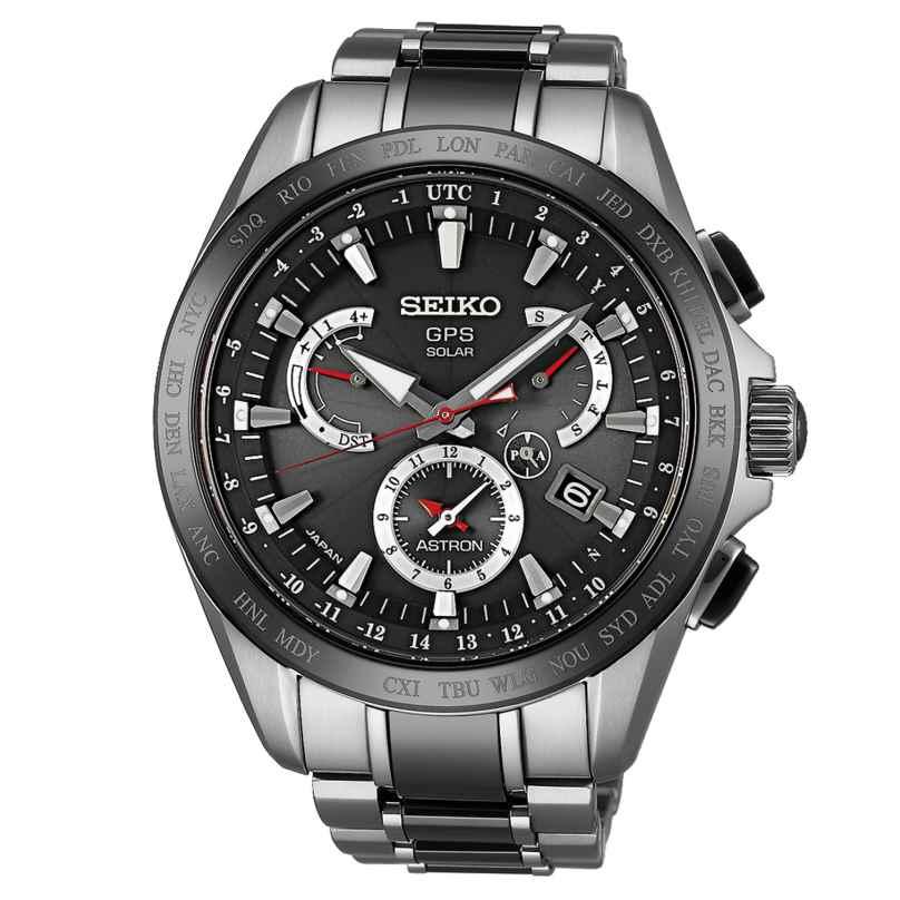 Seiko SSE041J1 Astron GPS Solar Dual Time Herrenuhr 4954628193407