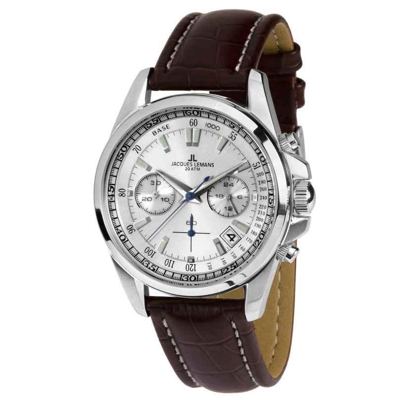 Jacques Lemans 1-1830B Herrenuhr Chronograph Liverpool 4040662127345