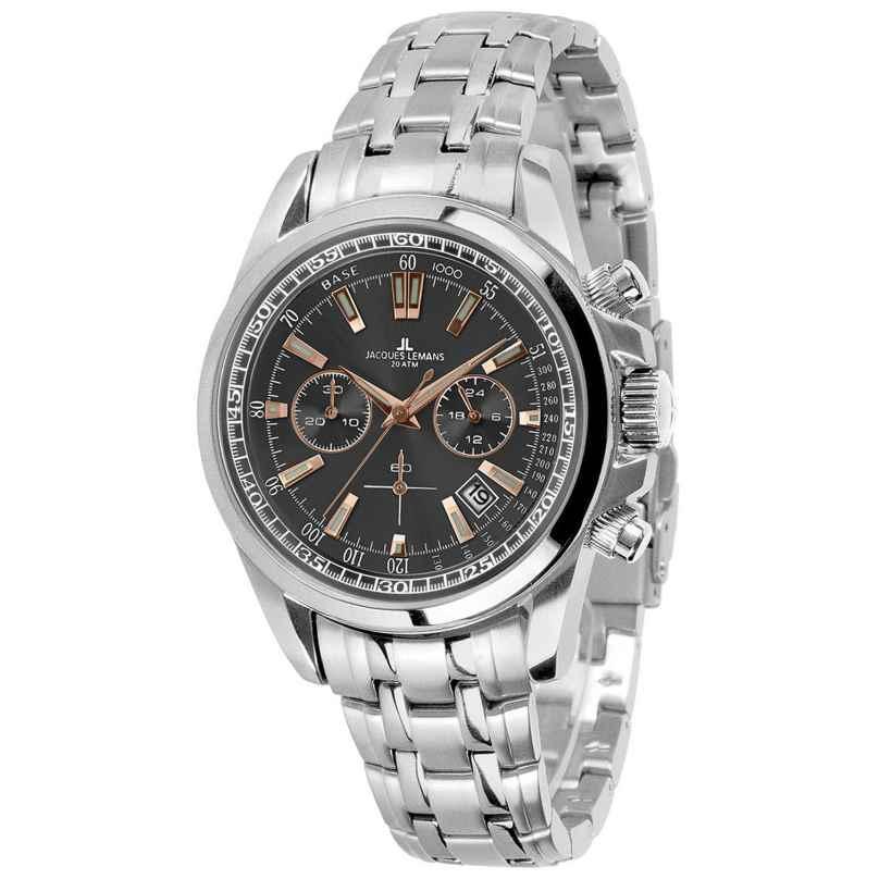 Jacques Lemans 1-1117.1XN Herren-Armbanduhr Chronograph Liverpool 4040662128427