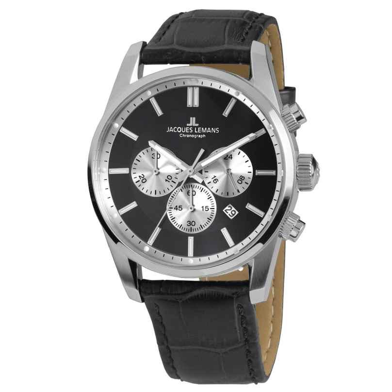 Jacques Lemans 42-6A Herrenuhr Chronograph Classic 4040662137276