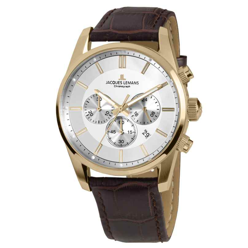 Jacques Lemans 42-6D Herrenuhr Chronograph Classic 4040662137306