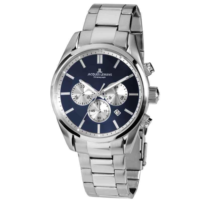 Jacques Lemans 42-6F Herren-Armbanduhr Chronograph Classic 4040662137320