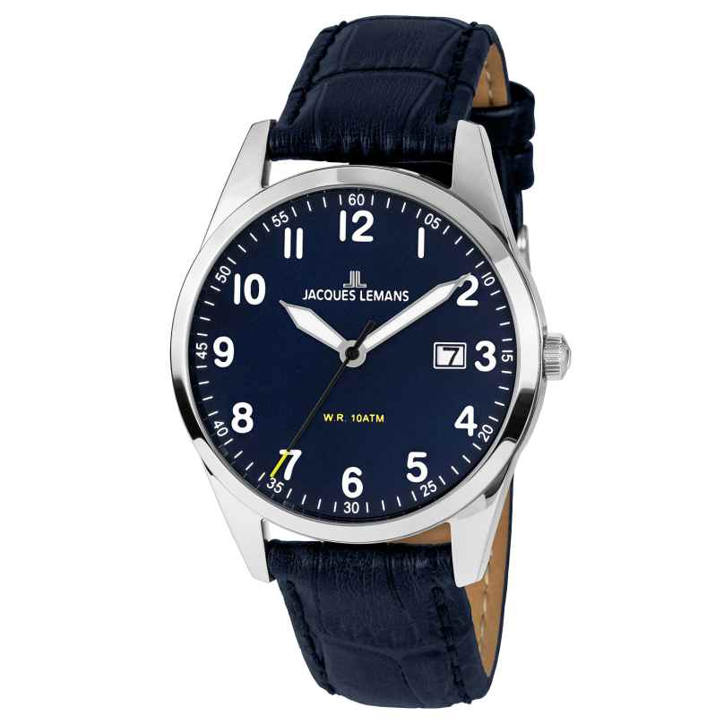 Jacques Lemans 1-2002C Herren-Armbanduhr 4040662138587