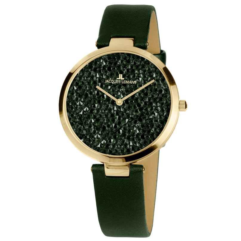 Jacques Lemans 1-2035F Damen-Armbanduhr Milano 4040662140085