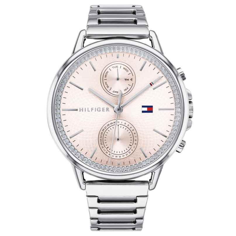 Tommy Hilfiger 1781917 Damen-Armbanduhr mit Multifunktion Carly 7613272273688