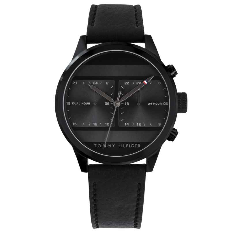 Tommy Hilfiger 1791595 Herren-Armbanduhr Dual Time Icon 7613272310826