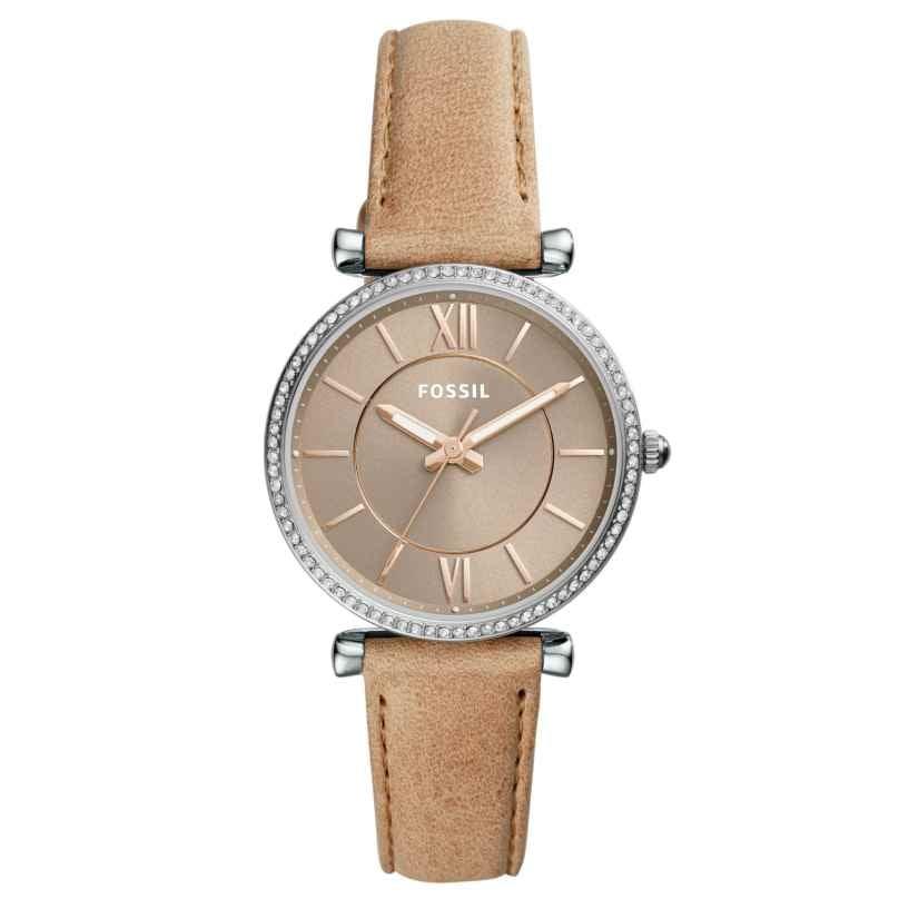 Fossil ES4343 Damen-Armbanduhr Carlie 4053858954571