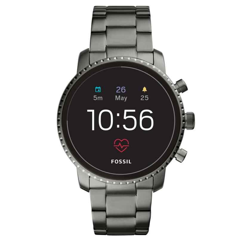 Fossil Q FTW4012 Herren-Smartwatch Explorist HR Gen 4 4013496045635