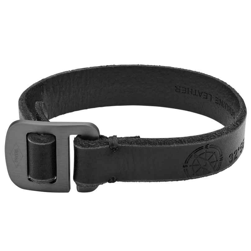 Fossil JA6891001 Leder-Herrenarmband Vintage Casual Hook 4053858903043