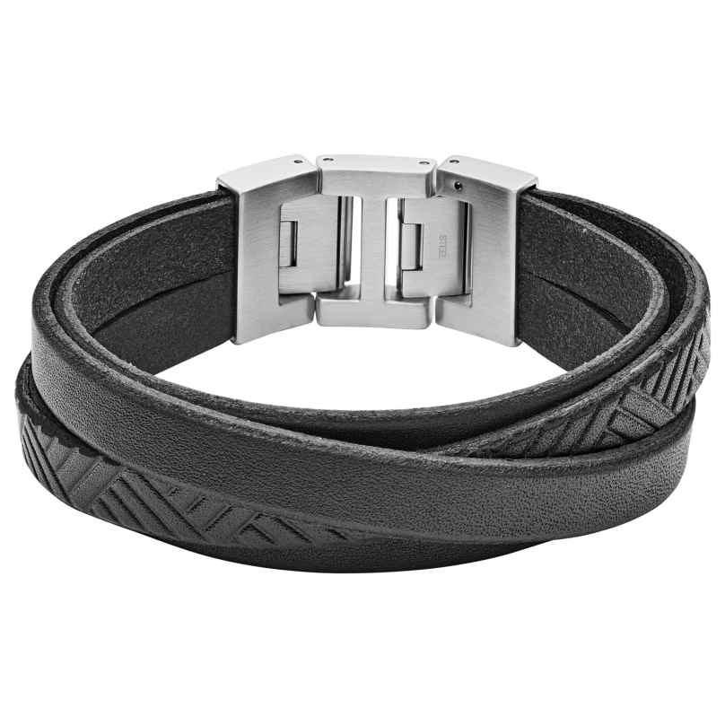 Fossil JF02998040 Herren-Armband Vintage Casual Schwarz 4013496122893