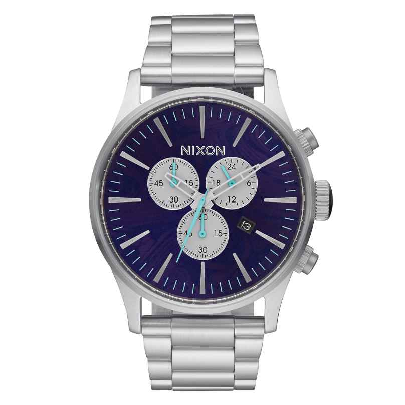Nixon A386 230 Sentry Chrono Purple Herrenuhr 3608700746890