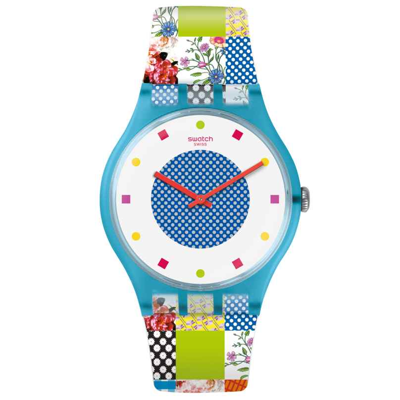 Swatch SUOS108 Damenuhr Quilted Time 7610522776517
