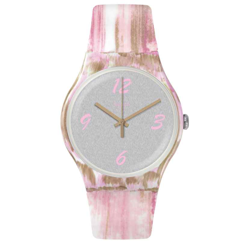 Swatch SUOW151 Damenuhr Pinkquarelle 7610522780453