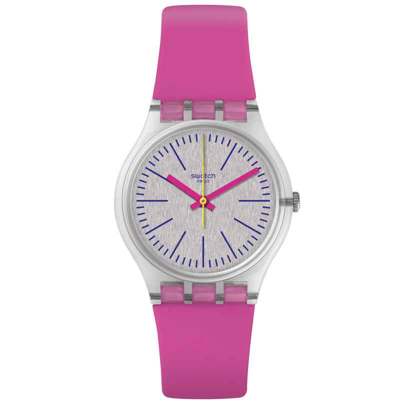 Swatch GE256 Damenuhr Fluo Pinky 7610522778818