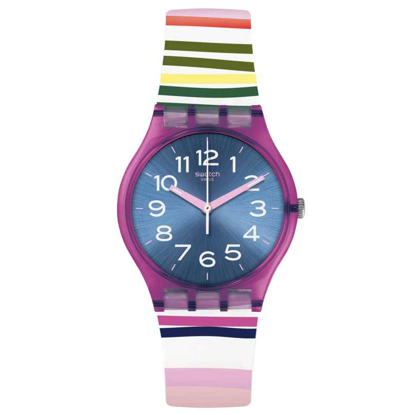 Swatch GP153 Damen-Uhr Funny Lines 7610522791404