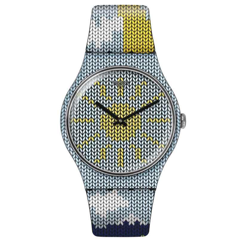 Swatch SUOB151 Damenuhr Tricovni 7610522791367