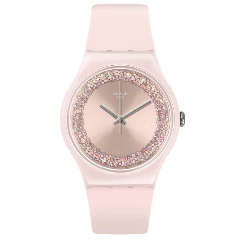 Swatch SUOP110 Damen-Armbanduhr Pinksparkles 7610522791787
