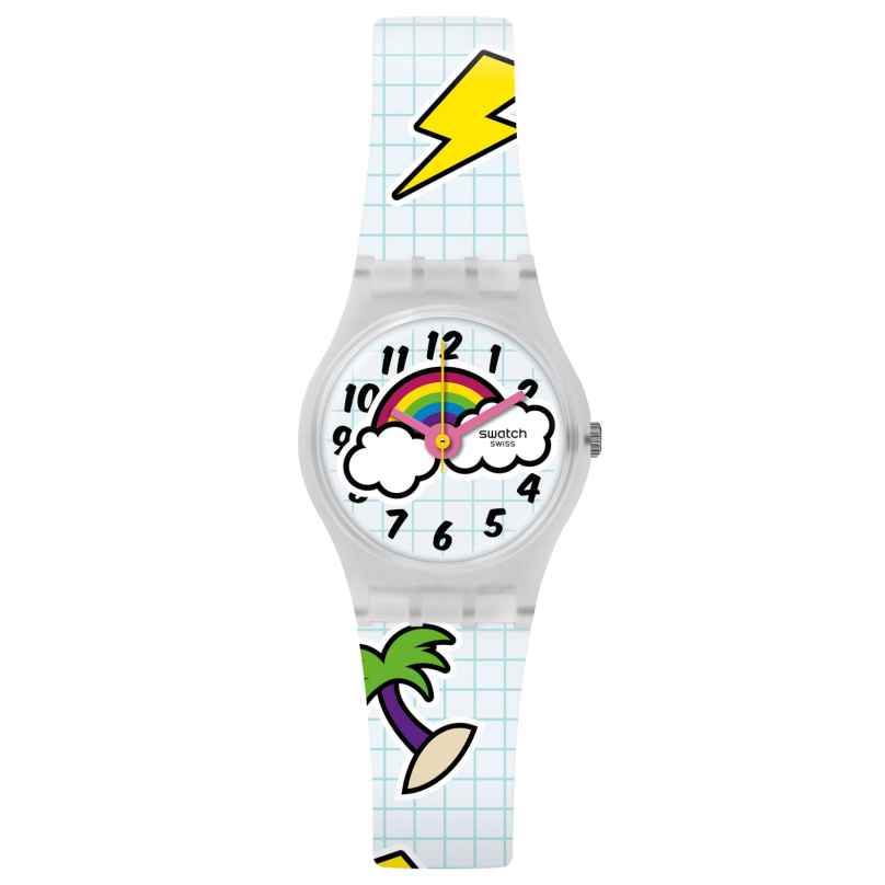 Swatch LW160 Ladies' Wrist Watch School Break 7610522786400