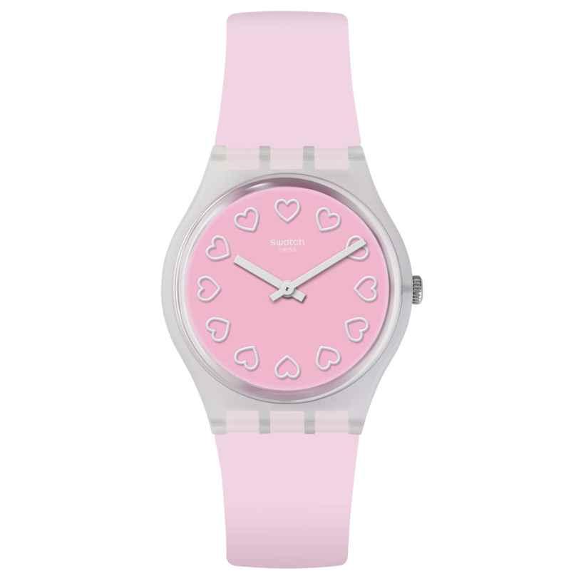 Swatch GE273 Damenuhr All Pink 7610522800557