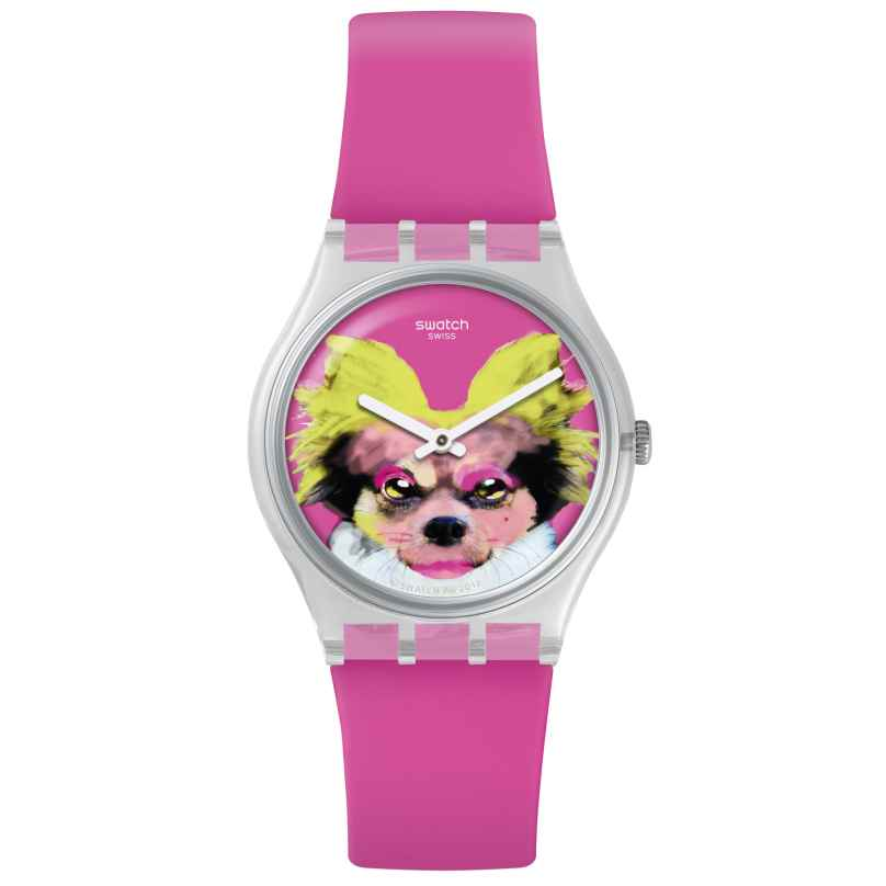 Swatch GE267 Damenuhr Pinkapippa 7610522800748