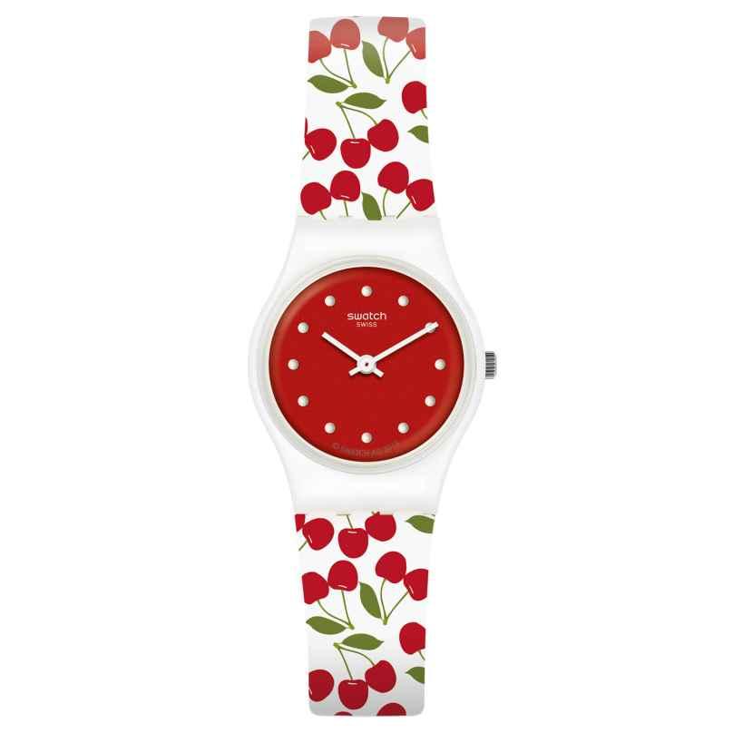 Swatch LW167 Damenarmbanduhr Cerise Moi 7610522800908