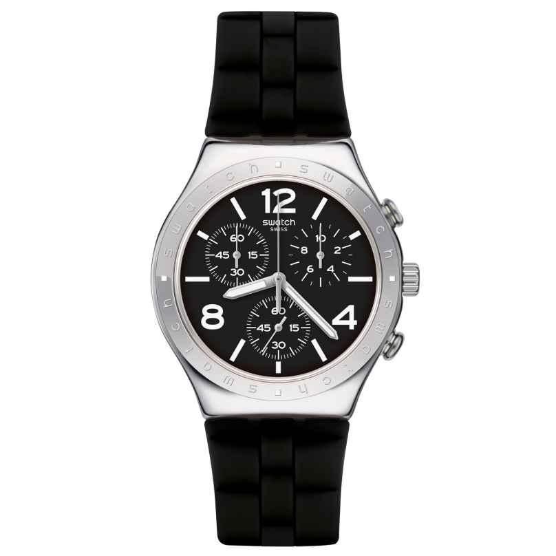 Swatch YCS116 Irony Chrono Herrenuhr Noir De Bienne 7610522776920