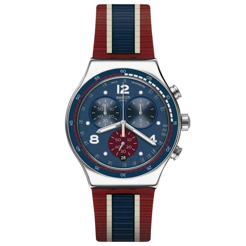 Swatch YVS449 Herrenuhr Chronograph College Time 7610522790803