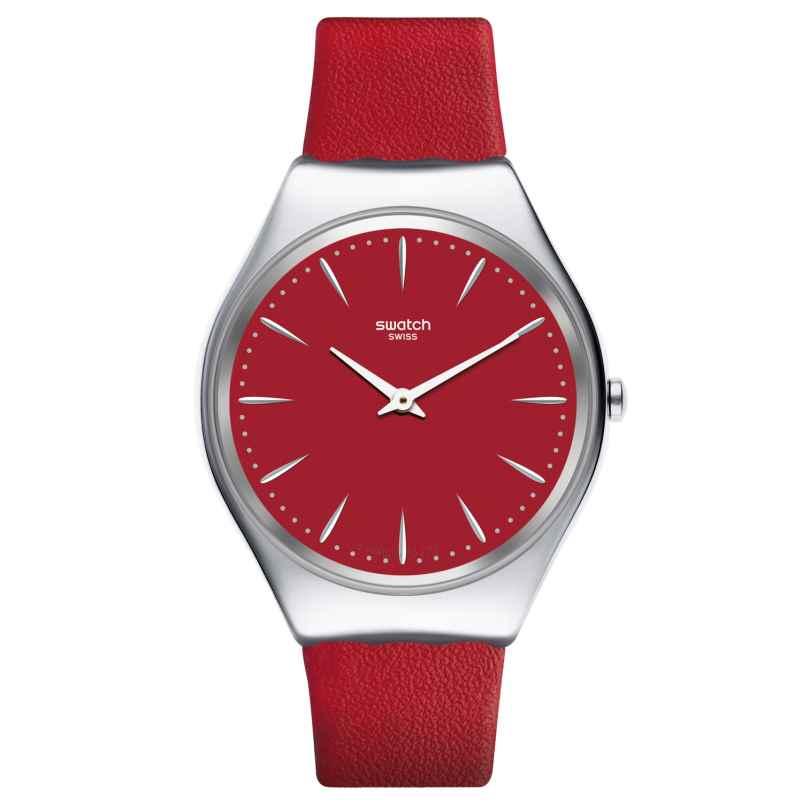 Swatch SYXS119 Skin Damen-Armbanduhr Skinrossa 7610522800991