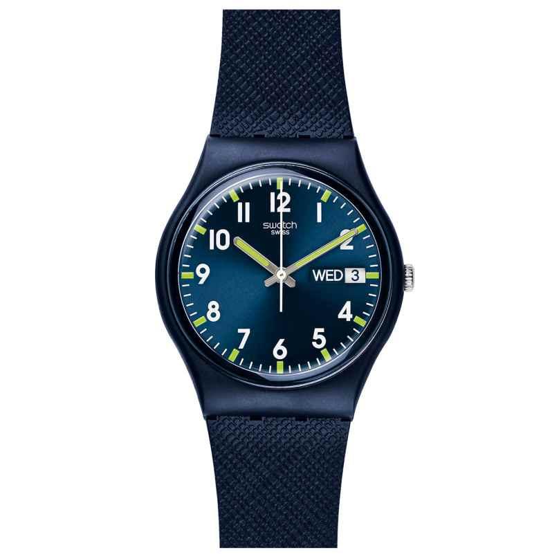 Swatch GN718 Sir Blue Wristwatch 7610522685352