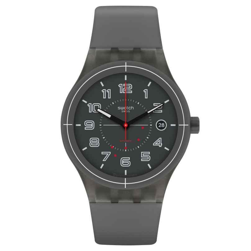 Swatch SUTM401 Sistem Ash Herren-Automatikuhr 7610522133495