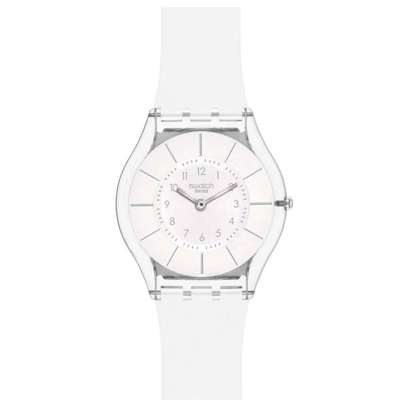 Swatch SFK360 White Classiness Damenuhr 7610522540507