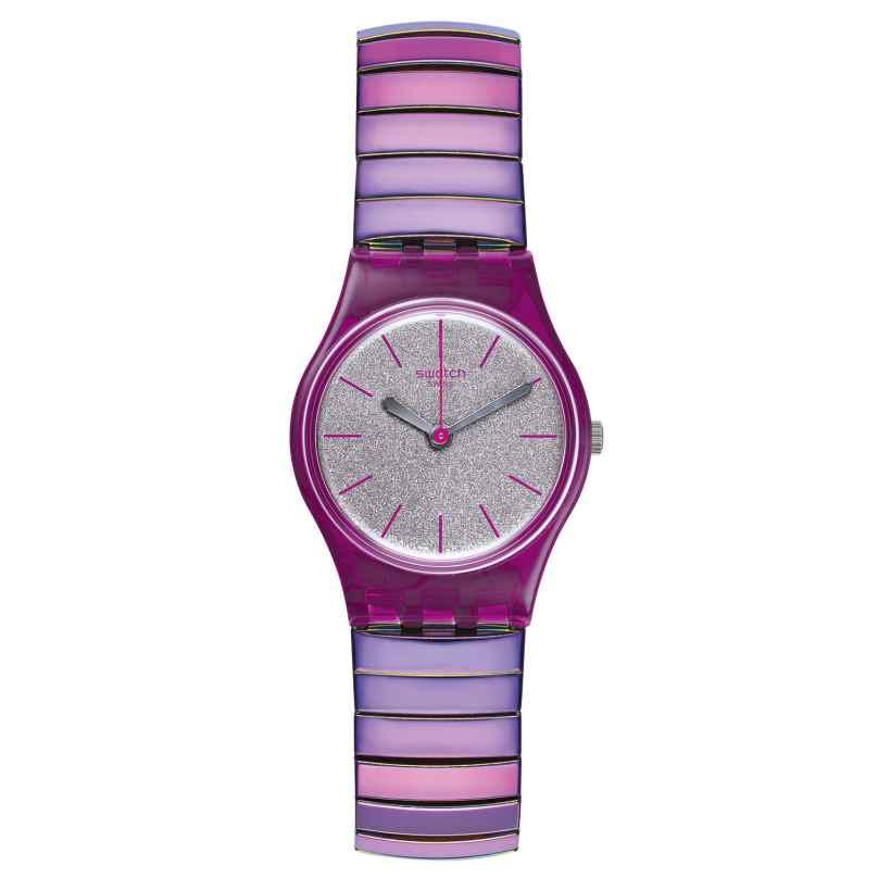 Swatch LP144B Damenuhr Flexipink S mit Zugband 7610522019607