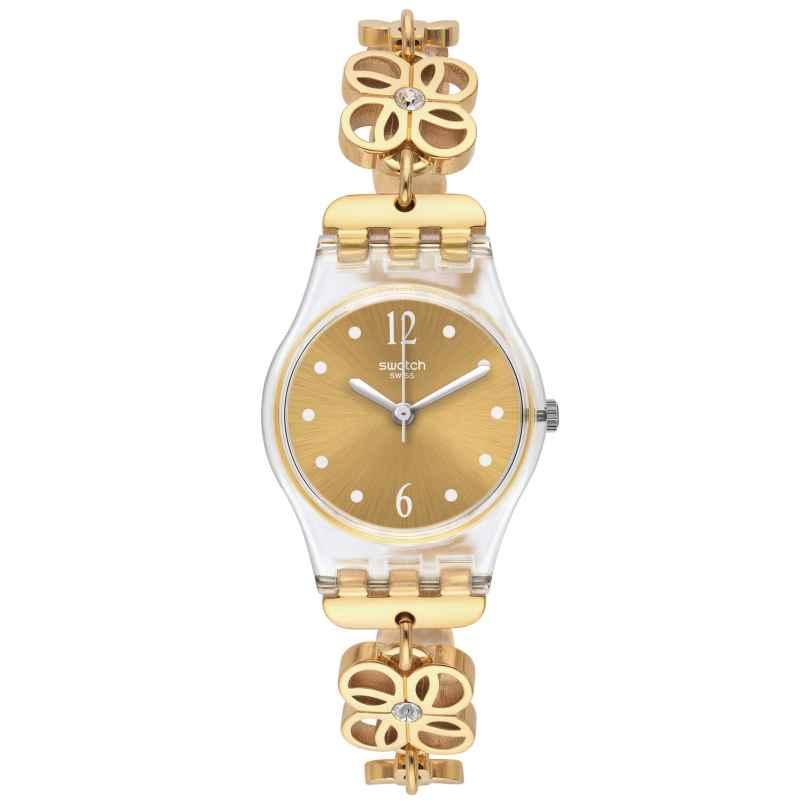Swatch LK360G Coup de Fleur Damenarmbanduhr 7610522441552