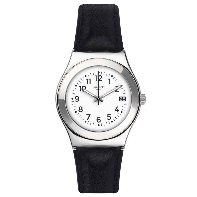 Swatch YLS453 Licorice Damen-Armbanduhr 7610522569874