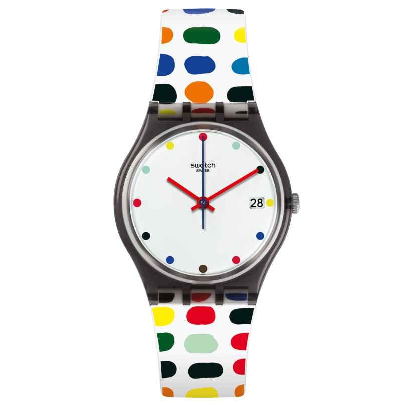 Swatch GM417 Milkolor Damenarmbanduhr 7610522692756