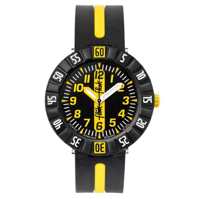 Flik Flak FCSP033 Yellow Ahead Kinderuhr 7610522533486