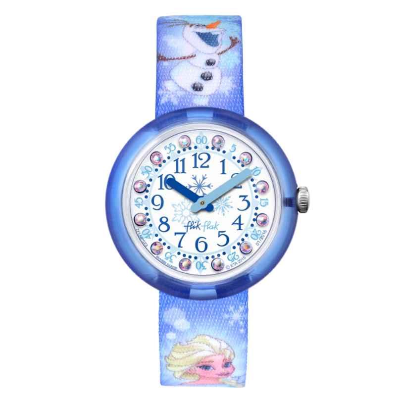 Flik Flak FLNP023 Disney Frozen Elsa & Olaf Kinderuhr 7610522533530