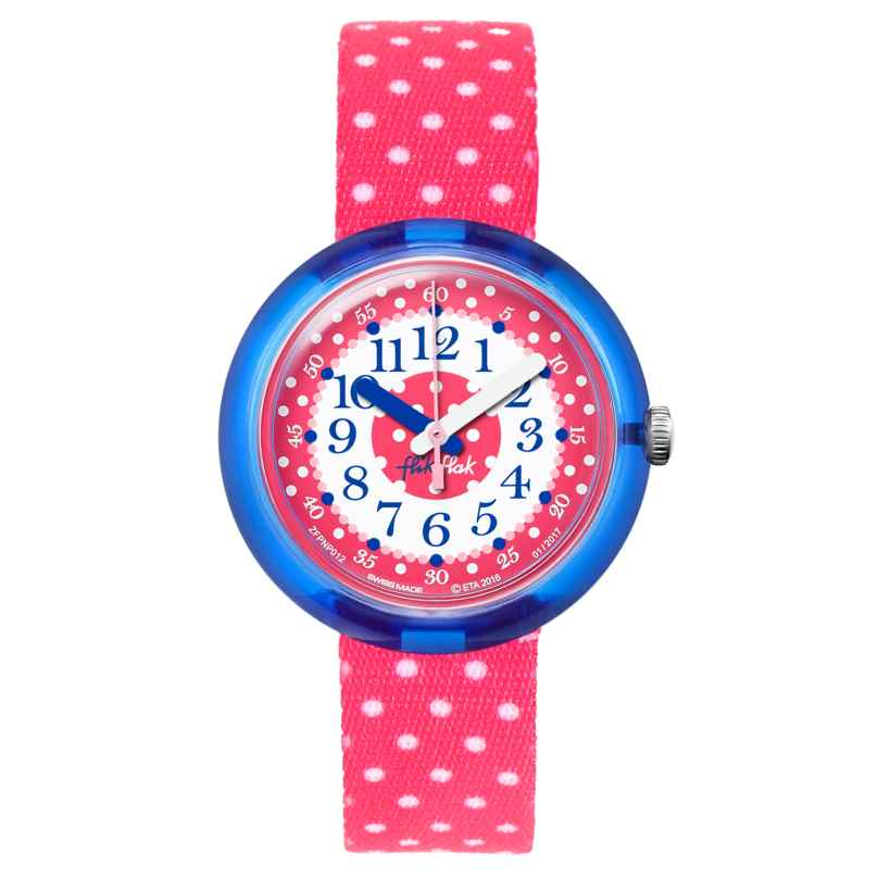 Flik Flak FPNP012 Pink Crumble Kinderuhr 7610522534636