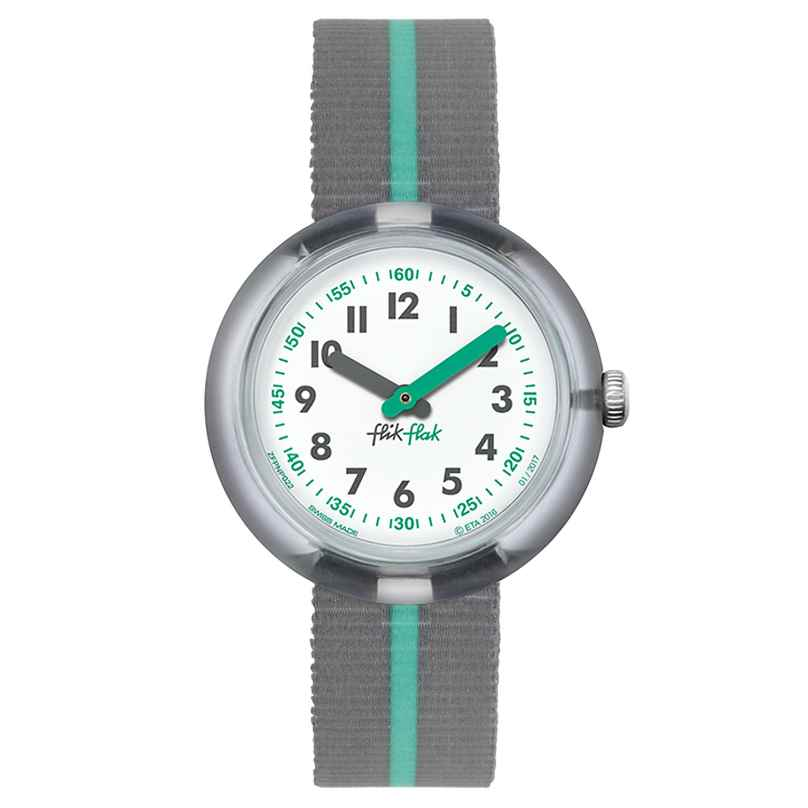 Flik Flak FPNP022 Green Band Kinderuhr 7610522534711