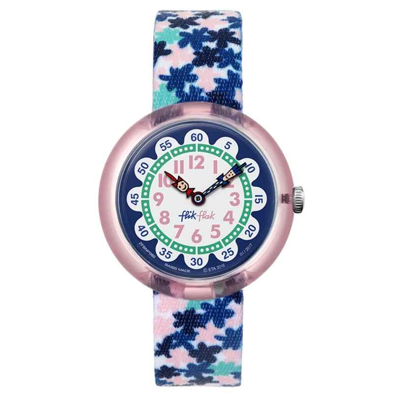 Flik Flak FBNP080 London Flower Uhr für Mädchen 7610522534612