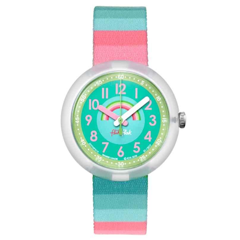 Flik Flak FPNP014 Stripy Streams Armbanduhr für Mädchen 7610522534650