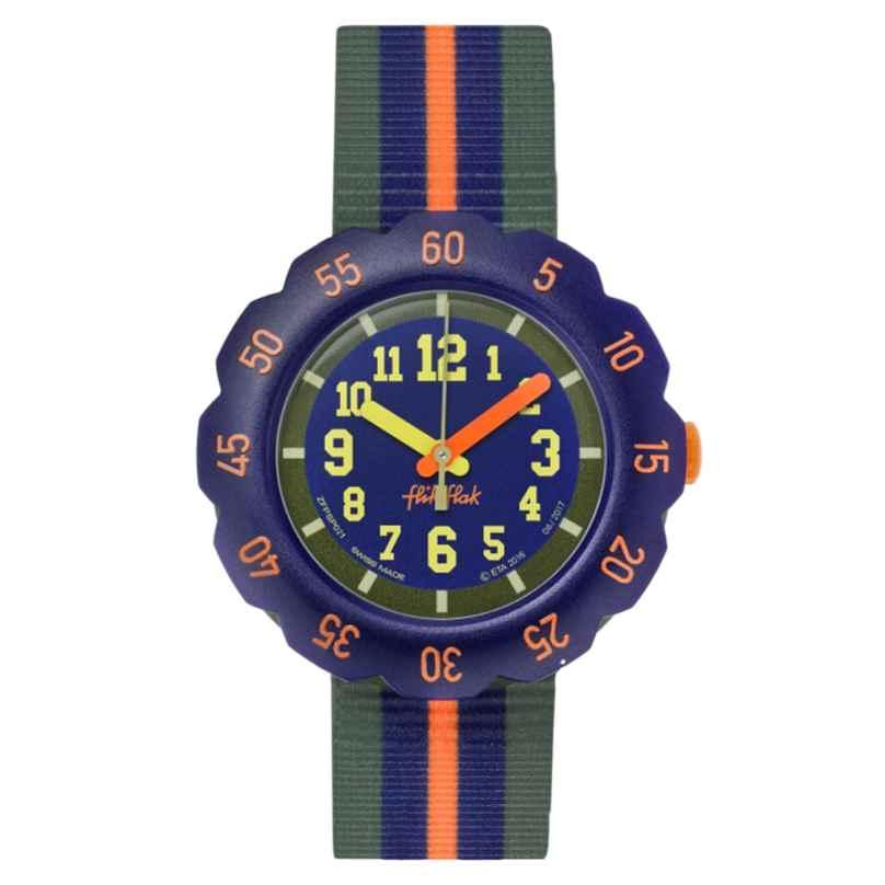 Flik Flak FPSP021 Kinderarmbanduhr Orange Line 7610522764156