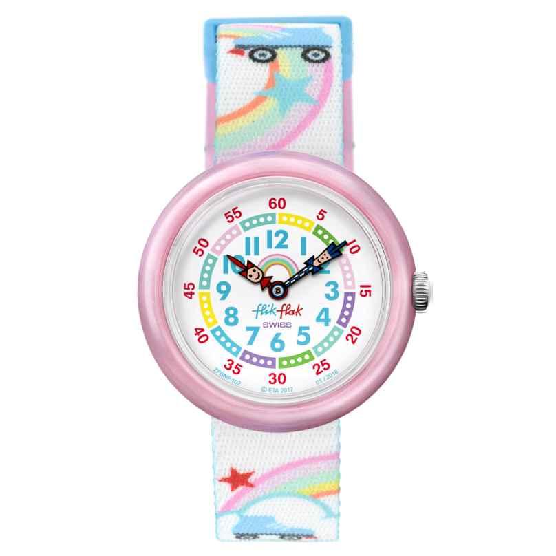 Flik Flak FBNP102 Mädchen-Armbanduhr Roller Disco 7610522774438