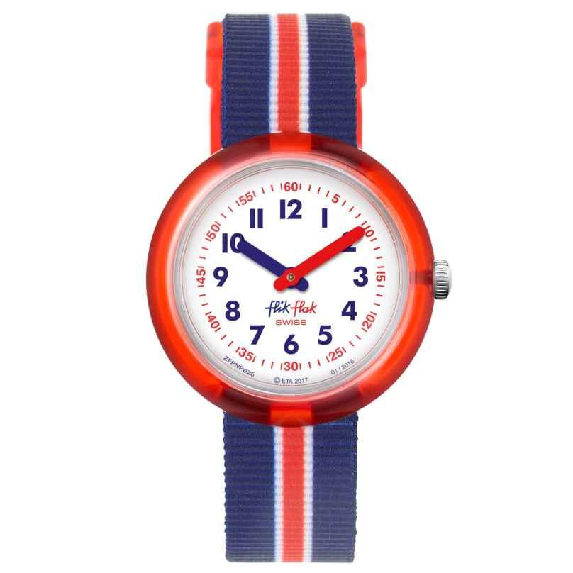 Flik Flak FPNP026 Kinder-Armbanduhr Red Band 7610522774483