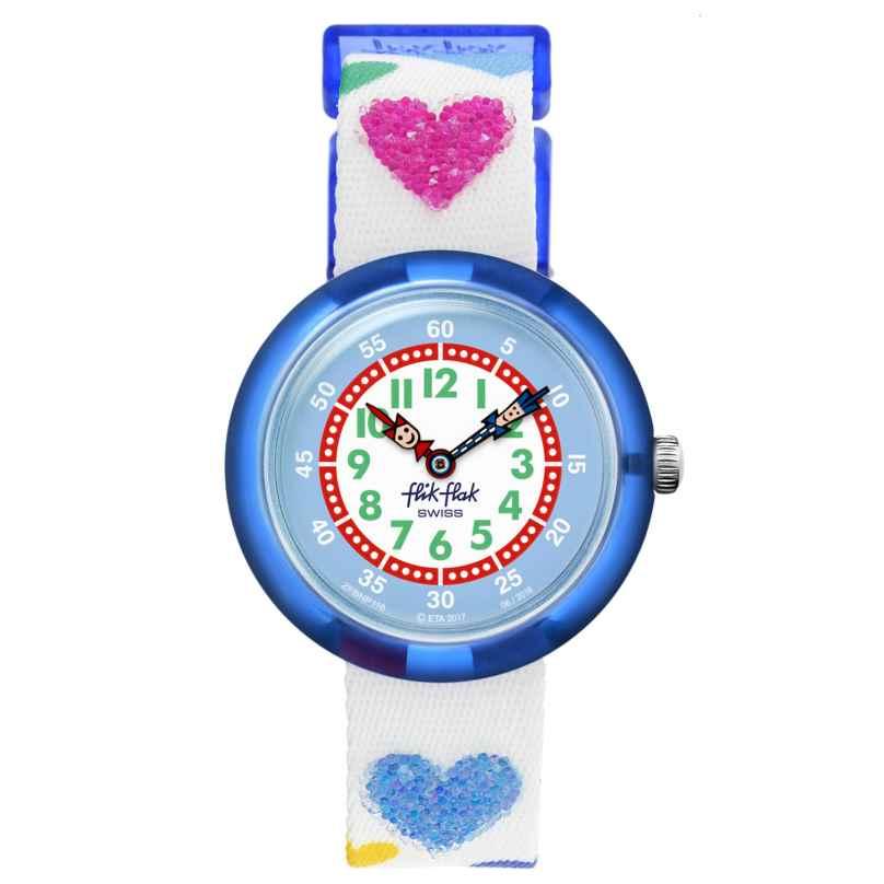 Flik Flak FBNP116 Kinderarmbanduhr für Mädchen Love My Heart 7610522782808