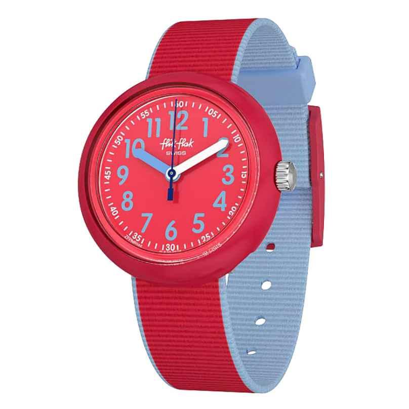 Flik Flak FPNP045 Kinderarmbanduhr Color Blast Red 7610522795655