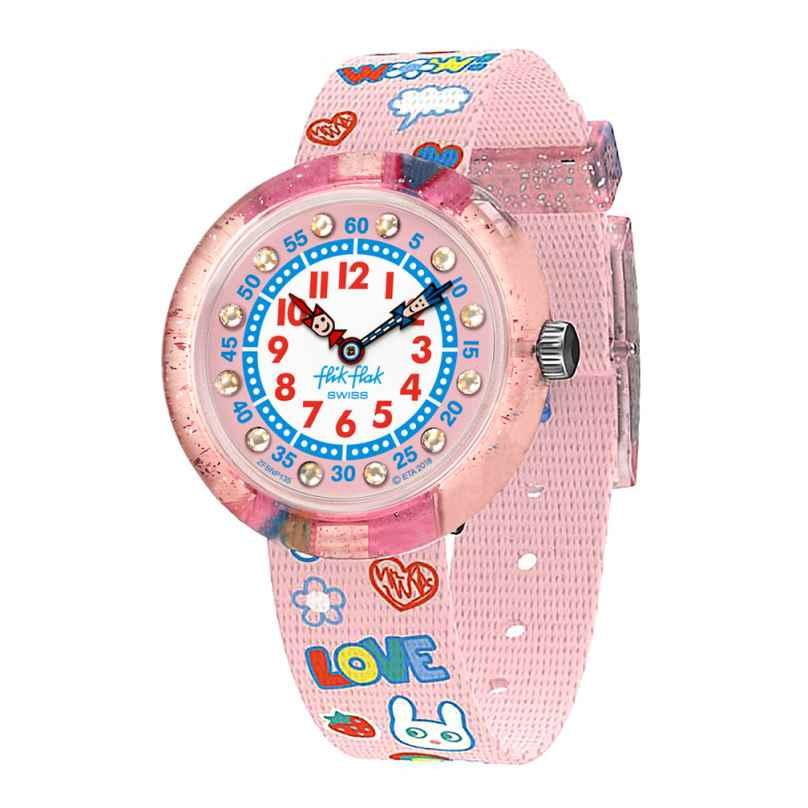 Flik Flak FBNP135 Kinder-Armbanduhr Wow Love 7610522807488