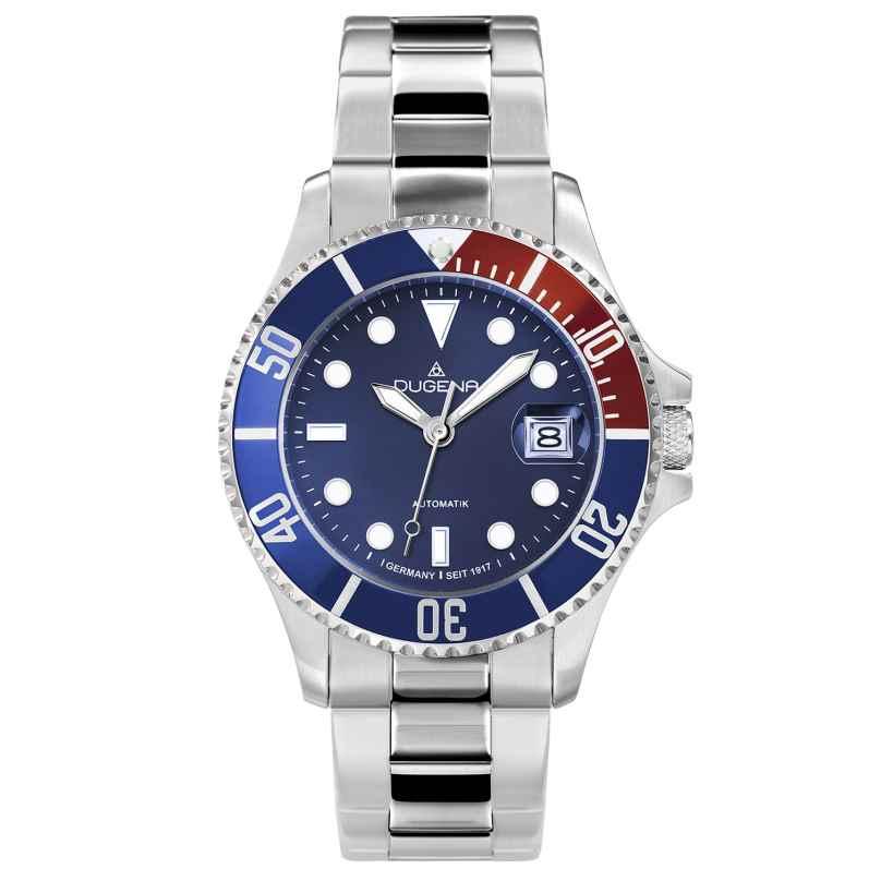 Dugena 4460588 Diver Automatik-Taucheruhr für Herren 4250645006554