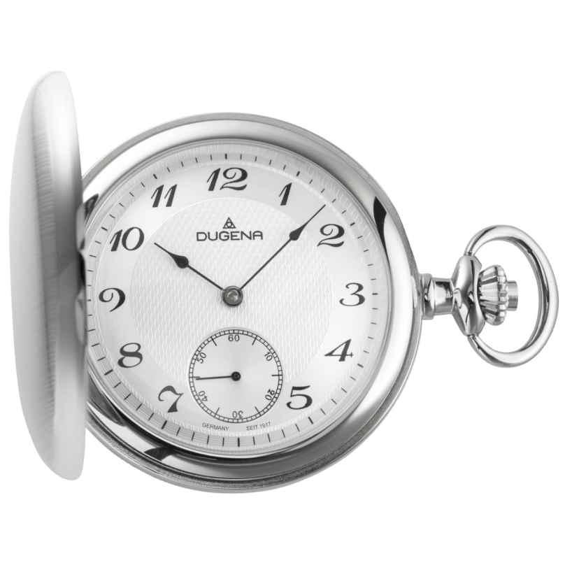 Dugena 4460500 Mechanische Taschenuhr mit Kette 4250645004017